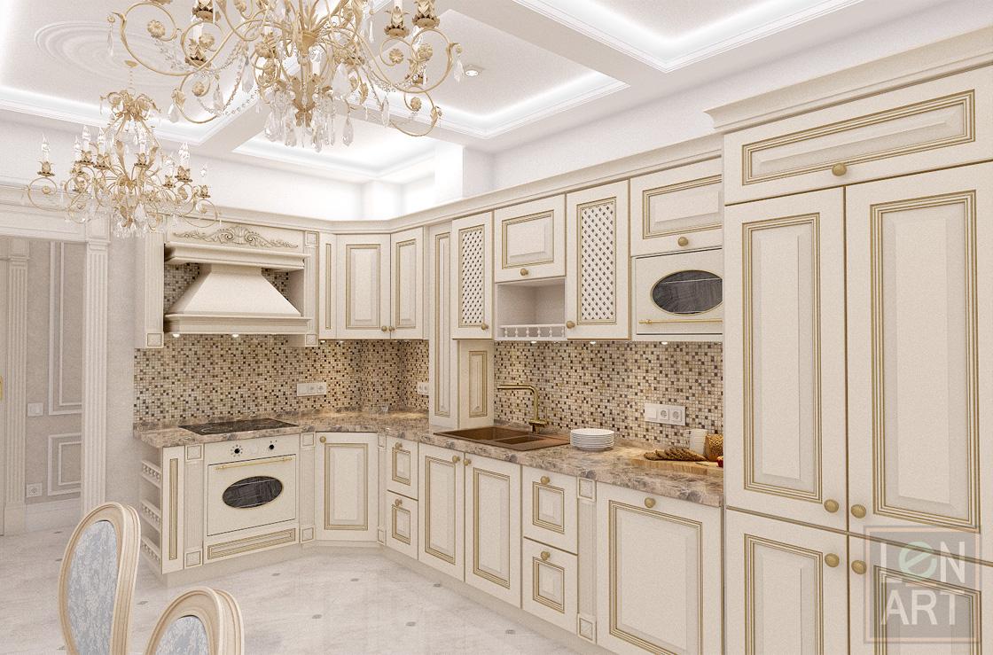 проект квартира студия в симферополе дизайн кухни столовой и гостиной